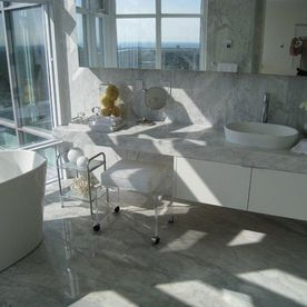Yorkville Penthouse bathroom
