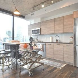 King West Condo Kitchen