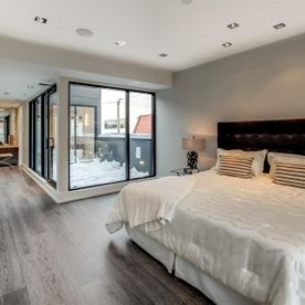 North York project master bedroom